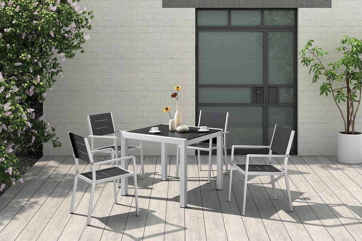 Outdoor Furniture Square Table Patio Dining Sets On Sale - Camila