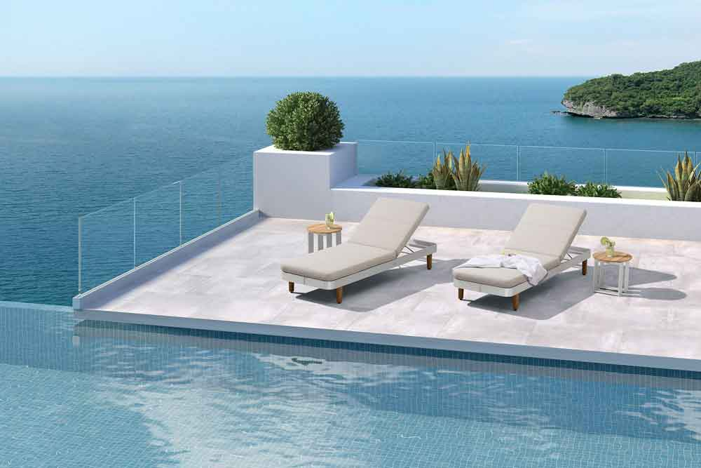 Garden Lounger Furniture Garden Sunbed For Pool - Rolland